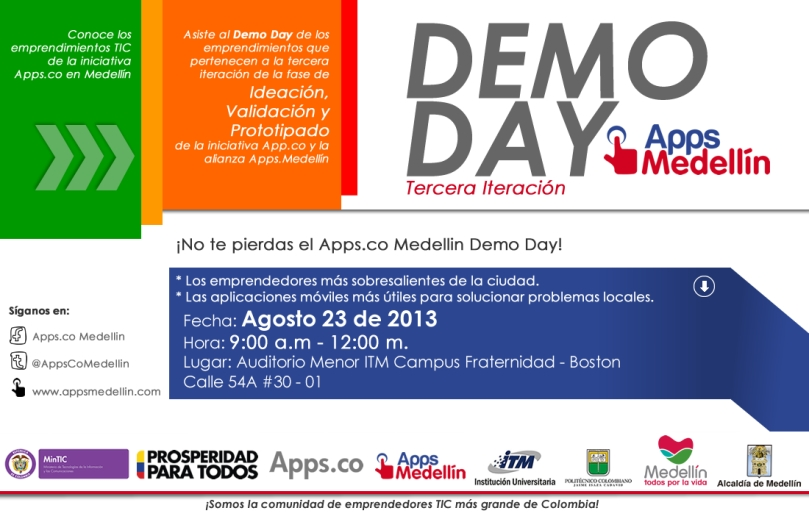 DemoDay Apps.Medellin