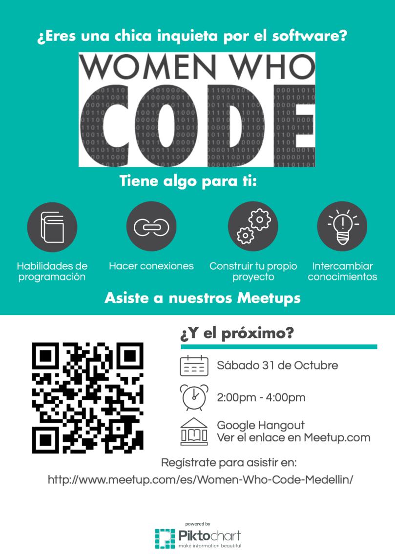 Women Who Code Medellin Octubre